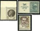 CECOSLOVACCHIA 1937 . . - N.  329 * 739 ** 2429 ** - Cat. 5,10 € - Lotto N. 1010 /11 /12 - Cecoslovacchia