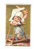 CHROMO DORE  GUERIN BOUTRON -  SCENE D'ENFANT - - Guerin Boutron