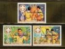 AITUTAKI 1983 MNH Stamp(s) World Jamboree 466-468 - Scouting