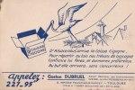 ¤¤  -  Carte Publicitaire  -  CIGOGNE   -  ¤¤ - Birds