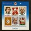 AITUTAKI 1980 MNH Block Albert Einstein S/s 284-289 - Albert Einstein