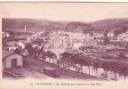 20442 Chateaulin (29 France) , Vue Générale Aulne Pont Neuf . 10 Artaud -gare Train Pont - Gares - Sans Trains