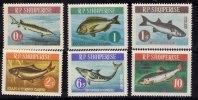 Albanie 1964 N°Y.T. :  671 à 676** - Albanië