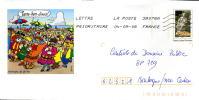 PAP Le P'tit Quinquin Lille Nord Patois Du Nord  Carnaval De Dunkerque Parapluie Agrément 809 Lot 42J/08F154 - Prêts-à-poster:  Autres (1995-...)