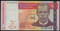 MALAWI - 100 KWACHA 30.06. 2011 UNC - P New - Malawi