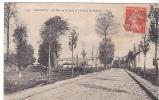 20455 BONNEUIL  La Rue De La Croix Et L'avenue Du Château. G.L. 1991