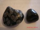 "SNOWFLAKE OBSIDIAN(1"") & APACHE TEARS(3/4"") - Minerals"