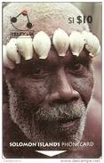 *ISOLE SALOMONE - 02SIC* - Scheda Usata - Solomon Islands