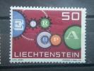 LIECHTENSTEIN 1961, MH 50c, Europa Scott 368 - Liechtenstein