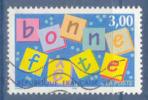 N°3045 Bonne Fête Oblitéré - Frankreich
