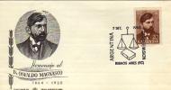HOMENAJE AL DR. OSVALDO MAGNASCO  1864   1920  AÑO 1968  SOBRE 1ER DIA DE EMISION OHL JURISTA POLITICO ABOGADO - Ecrivains