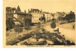 SAINT-JUNIEN  - Hte Vienne - Square CURIE - Central Garage - cpsm �crite 1939- Edit Villoutreix
