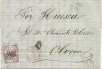 LETTRE POUR RENNES . - Lettres & Documents