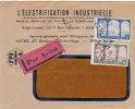 Belle Lettre Algérie, 1930, L'Electrification Industrielle, Alger/1039 - Covers & Documents