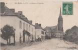 BEDEE  -  ( I  Et  V )  -  La  Route  De  Montauban.  Eglise  -  Publicité  Chocolat  Meunier  Sur  La  Façade. - Ohne Zuordnung