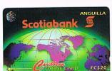 ANGUILLA - C. & W. (GPT)  - 1995 SCOTIABANK    COD. 6CAGA  TIR. 5000  - USATA° (USED)  -  RIF. 913 - Anguilla