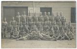1914 Soldiers At Kroměříž 2. Spiel Platz Real Photo By RAFAEL - Written In Czech - Repubblica Ceca