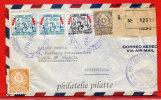 PARAGUAY LETTRE RECOMMANDEE DE 1957 DE ASUNCION POUR PARIS FRANCE COVER - Paraguay