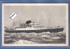 """Carte Postale Bateau  Paquebot Des Messageries Maritimes   """"Calédonien"""" - Passagiersschepen"""