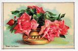 ROSES La FRANCE Revers Fiche Didactique Descriptive Dimensions 90x135mm Fleurs Fleur Flore Illustration - Fiches Illustrées