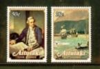 AITUTAKI 1979 MNH Stamp(s) Captain Cook SG 266-267 - Aitutaki