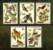 AITUTAKI 1985 MNH Stamp(s) Birds J.J. Audubon SG 518-522 - Birds
