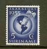 SURINAME 1955 Hinged Stamp(s) Fair 358 - Surinam ... - 1975
