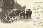 Carte Postale Menu De L´Hotel De La Licorne à LYONS La FORET 27 - Chasse à Courre - Lyons-la-Forêt