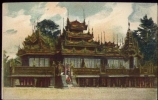 Birmania - Abitazione Di Bonzi - L'istituto Delle Missione Estere Di Milano - Viaggiata - Formato Piccolo - Cartoline