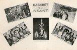 EXCEPTIONNELLE : Collection Complète Du CABARET DU NEANT - PARIS - 5 Cartes + Carte De Présentation - Cabaret