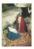 Cp, Noël, Joyeux Noël, Marie, Joseph Et Jésus - Christmas