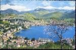 Lugano - Panorama - 8058 - Viaggiata - Formato Piccolo - TI Ticino