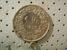 SWITZERLAND 1 Franc 1956 - Switzerland