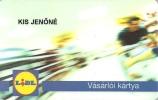 CUSTOMER CARD * LOYALTY CARD * LIDL SUPERMARKET * Vasarloi Kartya 2011 * Hungary - Andere