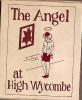 Allumettes/Bar/The Angel/High Wycombe/GB?/vers 1980?                     AL1 - Boites D'allumettes