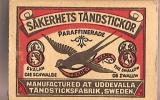 """Allumettes/""""""""Sakerhets Tandstickor/Swallow/Suéde : Vers 1980-1990         AL6 - Boites D'allumettes"""