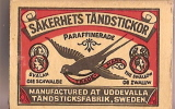 "Allumettes/""""Sakerhets Tandstickor/Swallow/Su�de : vers 1980-1990         AL6"