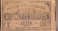 Allumettes/Allumettes Soufrées/Régie Française/SEITA/ France/ Vers 1935-45             AL10
