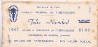 REPUBLICA. Carnet Con 100 Sellos Pro Tuberculosis - Cuba