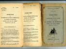 INSTRUCTION SUR L ENTRETIEN DU MATERIEL DE PROTECTION CONTRE LES GAZ DE COMBAT 1925 ET 4 RECTIFICATIFS JUSQU EN 1928 - Documents