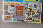 7 - Imp. ++ COLLECTION OF 25 STAMPS ARCHEOLOGIE ARHEOLOGY  ++ ALL OVER THE WORLD CANCELLED GESTEMPELD - Archeologie
