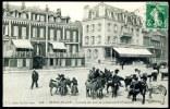 CPA. BERCK-PLAGE. Location Des ânes De Promenade à L'Entonnoir. - Berck