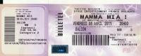 Ticket Spectacle Musical : MAMMA MIA !, Vendredi 8 Avril 2011, Théatre Mogador, Paris, Abba - Tickets De Concerts