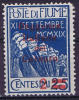 Fiume Sass 132 A, Azzurro  Unused, MH Neuf*, - 8. Occupazione 1a Guerra