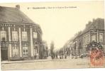 59/ HAZEBROUCK -Place De La Gare Et Rue Nationale -numer49 Editeur ? - Hazebrouck