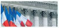 Carte De Voeux 2011 : David Douillet, Député, Conseiller Régional Des Yvelines, Assemblée Nationale, 2 Volets, Politique - Documenti Storici