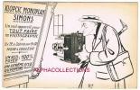 94 - ALFORT : PHOTOGRAPHE SIMONS. MICH. JUDAICA ?. CARTE PUBLICITAIRE. - Alfortville