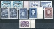 Austria 1947-58 Lot Of 10 Stamps MNH - Lot. 602 - 1945-60 Neufs