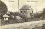 Carte Postale Ancienne MONVILLE 76 - Villa Des Roses Animée - Lefébure Charbons - Francia