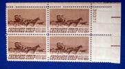 USA 1968 BLOCK CHEROKEE STRIP  MNH** - Stamps